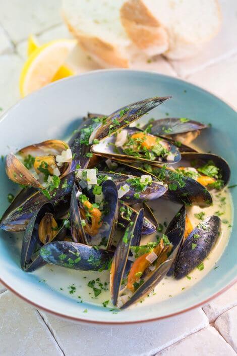 Healthy Mussels
