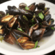 Tipsy Prosecco Mussels