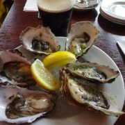 Shellfish and Guinness