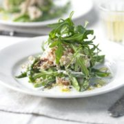 This wonderfully fresh dish is full of light, shellfish flavours and makes the perfect start to a relaxed dinner party