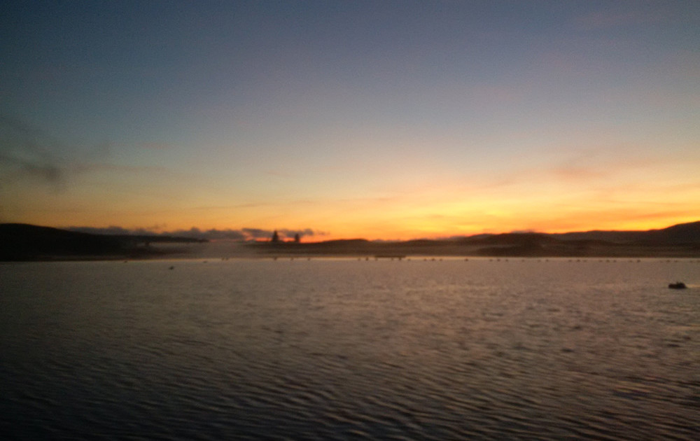inverlussa sunrise