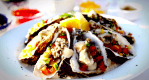 Salsa Oysters